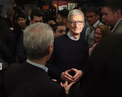 Tim Cook Says Facebook Should Have Regulated itself, but it's too Late for that now
