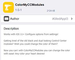 This Tweak Lets You Colorize iOS 11 Control Center