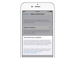 How to Assess the Overall Health From Your iPhone Battery Description?