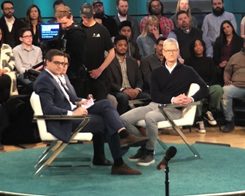 Apple CEO Tim Cook Discusses Education, Job Creation, More in Interview