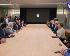 Saudi Prince Meets Tim Cook at Apple Park to Talk App Development, Education