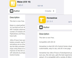 Maize and Horseshoe are Now Free