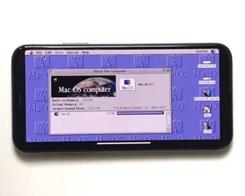 See an iPhone X Run Mac OS 8, Warcraft II and SimCity 2000