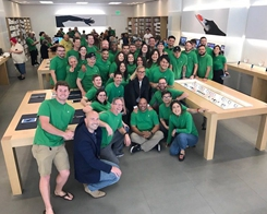 Apple Store Employees to Celebrate Earth Day With Green Shirts Starting This Week