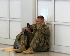 Soldier Uses FaceTime to Witness Daughter's Birth After Flight Delay