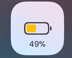 Cowbell Displays Your Battery Percentage in Low Power Mode Toggle