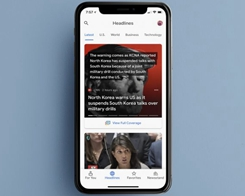 Overhauled Google News App Arrives on the App Store for iPhone