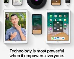 Apple Promotes Accessibility Features on Homepage for Global Awareness Day