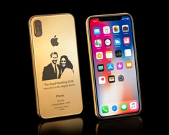 ​Goldgenie Releases iPhone X Elite in 24-karat Gold to Commemorate the Royal Wedding