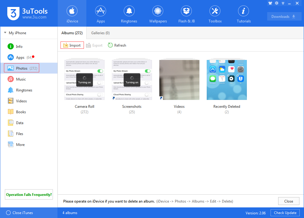 how to use icloud library to get photo to pc