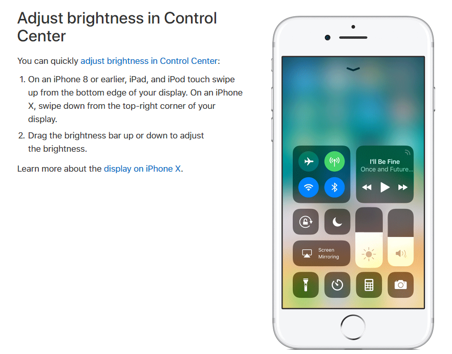 How to Adjust the Screen Brightness on iPhone | Techbytex ...