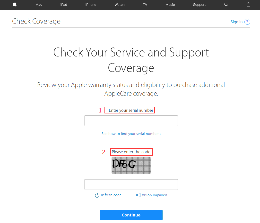 how to get serial number on iphone