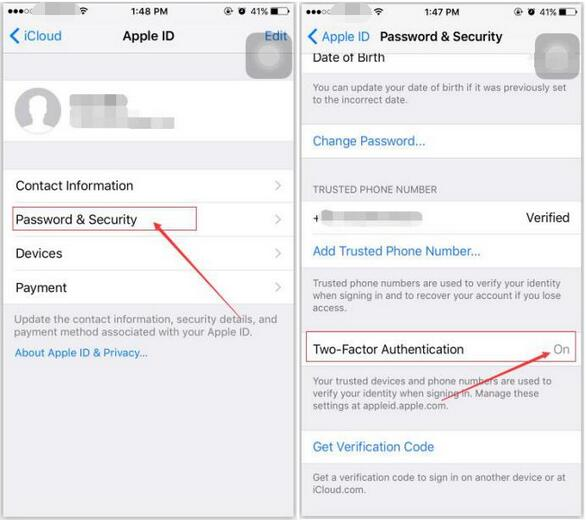 How to Open iPhone's Two-Factor Authentication?