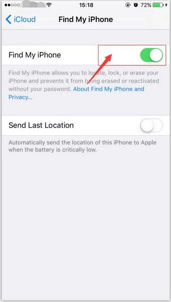 "How to Turn off ""Find My iPhone""?"