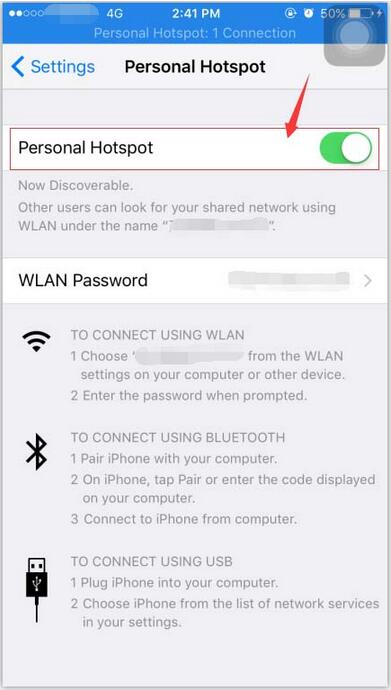 How to Close Apple iPhone's Personal Hotspot?