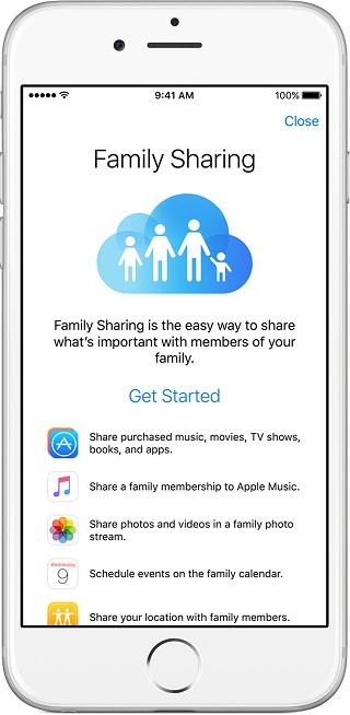 Apple News Family Sharing