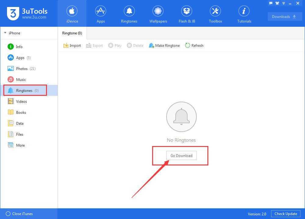 How to Manage Ringtones Using 3uTools?