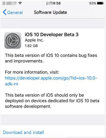 How to Upgrade iPhone to iOS10.1 Beta3 Using 3uTools?
