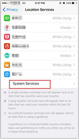 How to View the Frequent Locations on iPhone?
