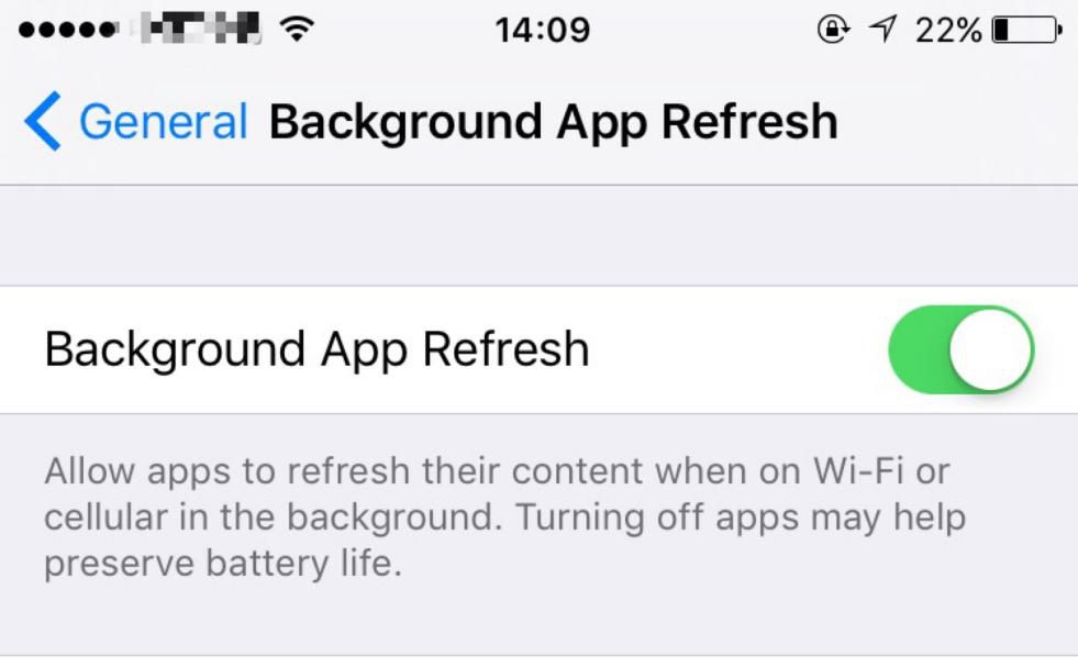 How to Solve the Power-hungry Problem of iOS10 ?
