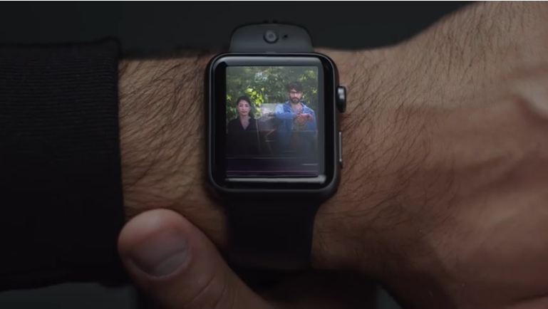 The Apple Watch Gets A Video-chat Camera Watchband