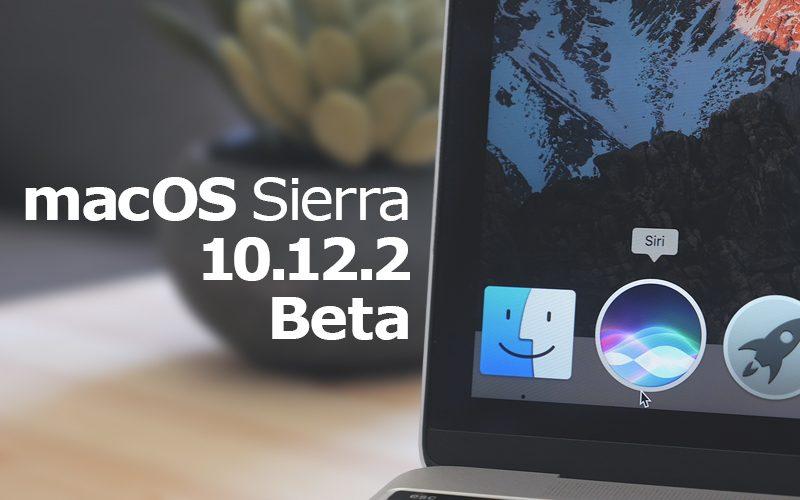 Apple Releases Minor Update to First MacOS Sierra 10.12.2 Beta