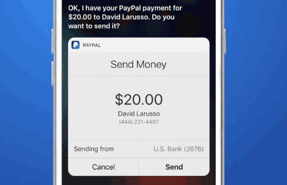 iOS 10  New Feature : Send Money With Siri