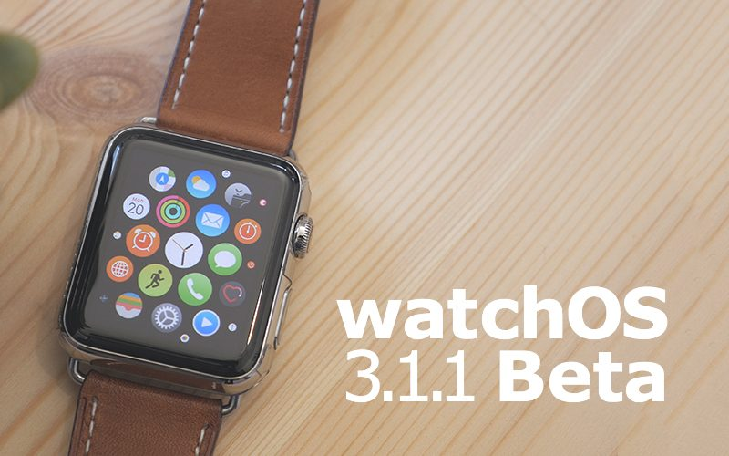 Apple Releases Third WatchOS 3.1.1 Developer Beta for Apple Watch
