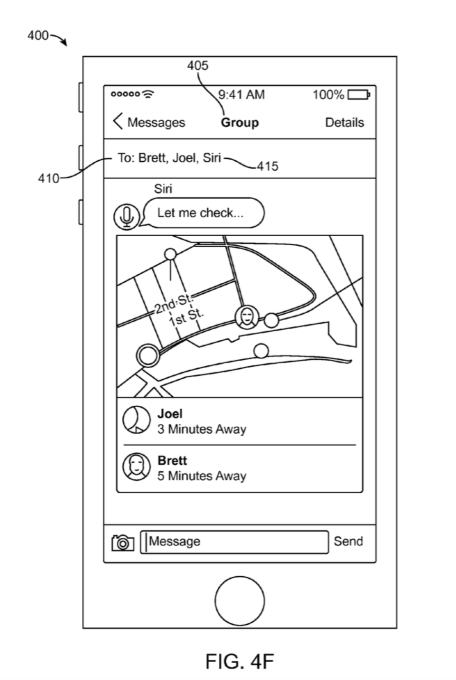 Apple Patent Shows Siri Interjecting in iMessage Chats Scheduling Dinner and More