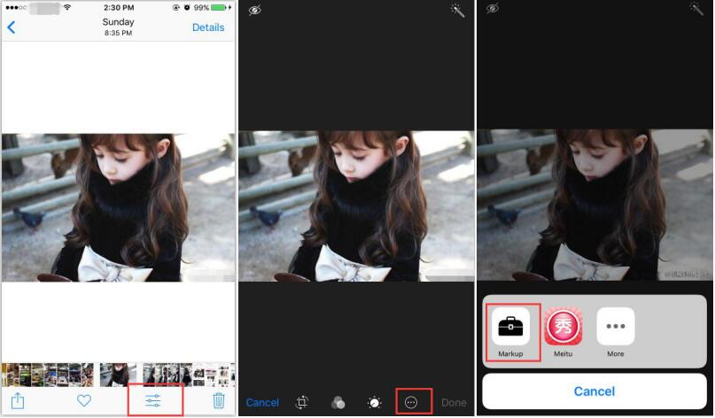How to Edit Text on Photos of iPhone 7 Plus?
