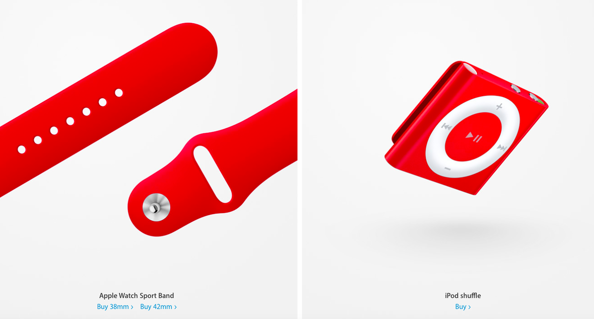 Apple Released New Accessories for World AIDS Day