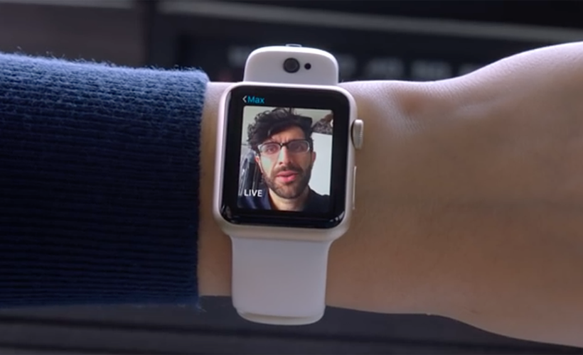 Add Cameras to Apple Watch with CMRA