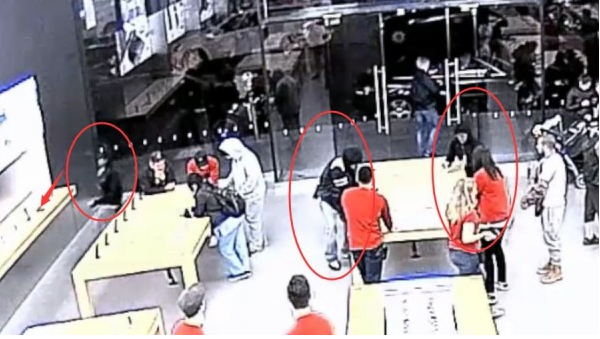 Mob of Robbers Snatch iPhones At Apple store – Twice In One Week