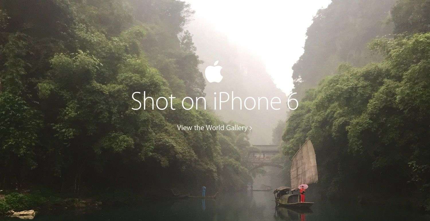 Pictures From Shot on Your iPhone Campaign