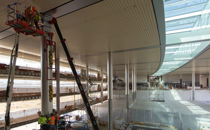 New Photos Reveal Massive Apple Campus 2 Near Completion