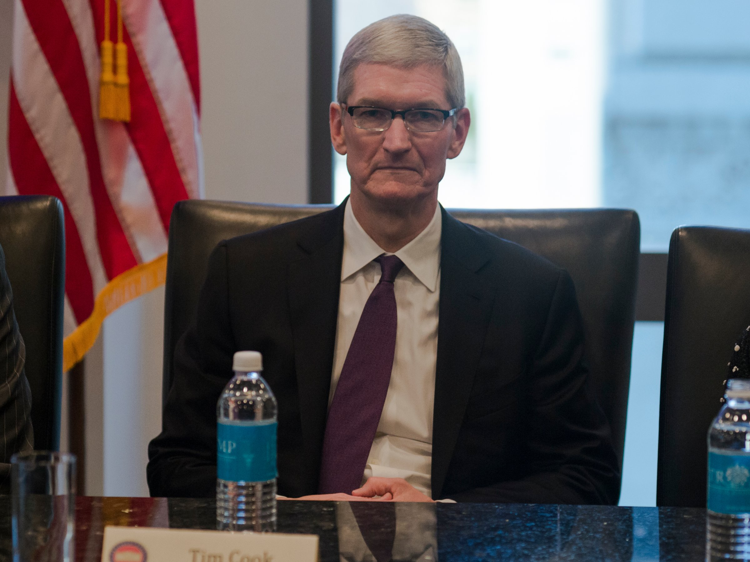 Apple CEO Tim Cook on meeting with Trump: 'You don't change things by just yelling'