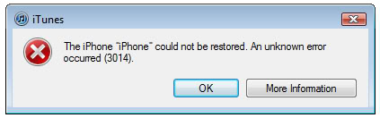 How to Fix iPhone Error 3014 When Restoring iPhone?