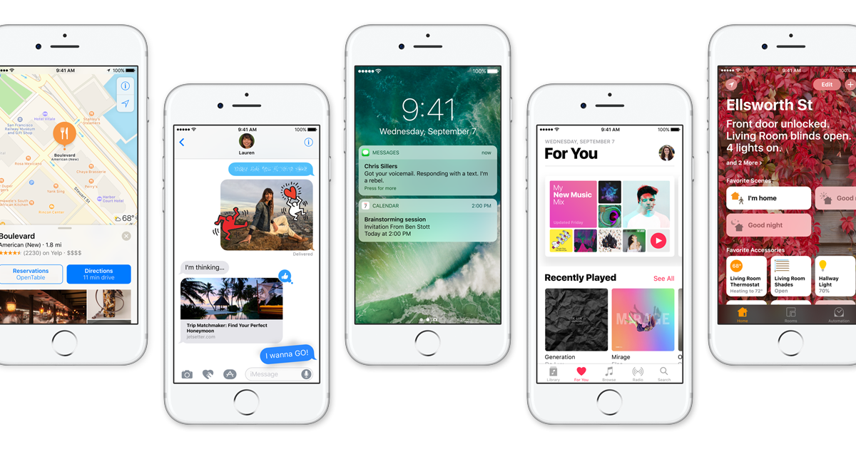 Apple Stops Signing iOS 10.1 & 10.1.1 Following Release of iOS 10.2