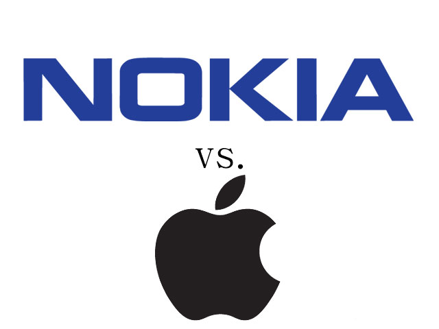 Nokia Sues Apple for Patent Infringement in U.S. and Germany