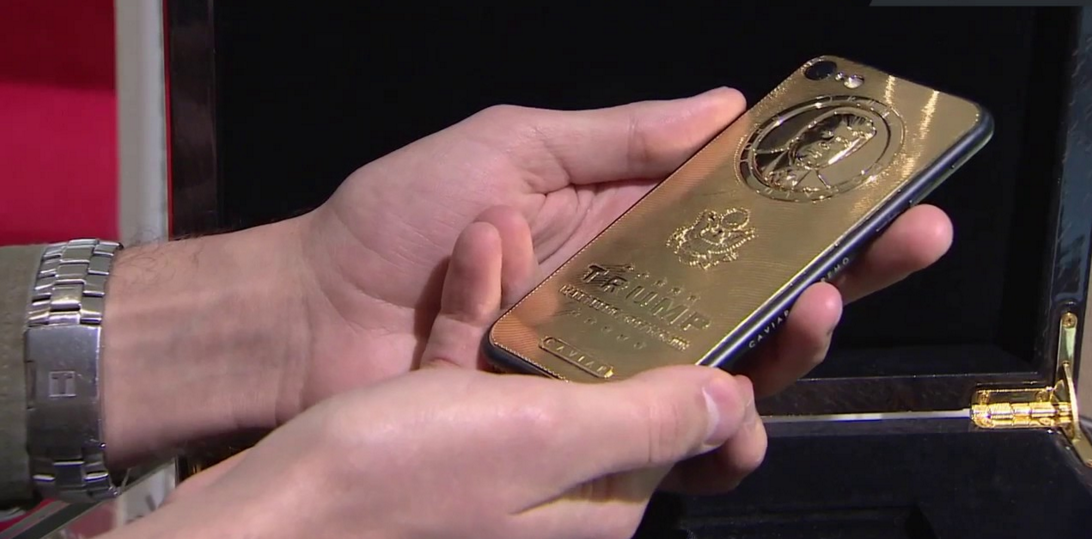 Buy A Gold-Plated Donald Trump iPhone For $151,000