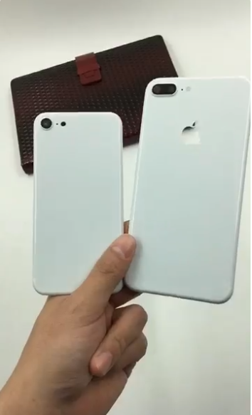 Rumored 'Jet White' iPhone 7 Mockup Shown Off in Video