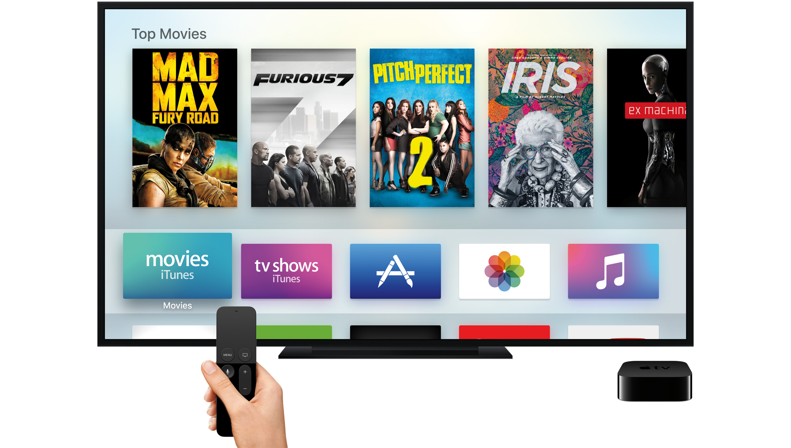 Apple Increases App Size Restriction for tvOS Apps From 200MB to 4GB