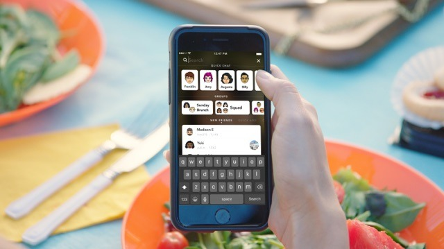 Snapchat for iPhone Adding Universal Search Bar to Speed Up Interactions