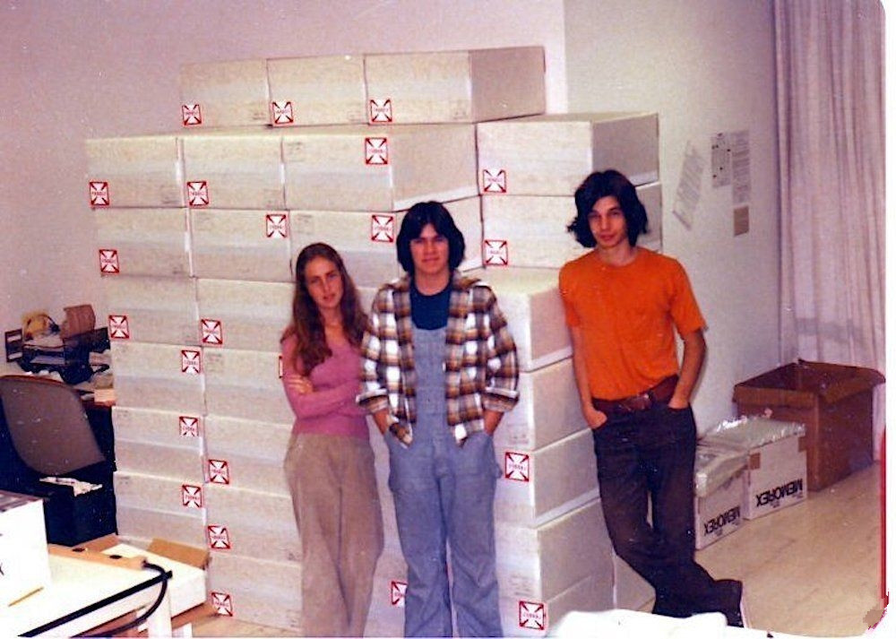 A Peek Inside Apple's First Real Office Space