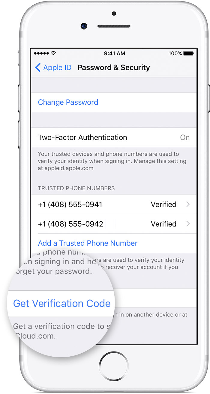 How To Get A Verification Code And Sign In With Two-factor