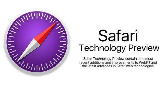 Apple's latest Safari Technology Preview Beta