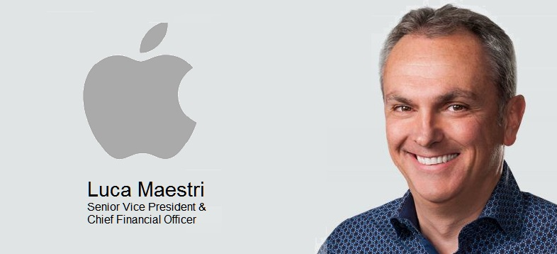 Apple CFO Luca Maestri to Speak at 2017 Goldman Sachs Technology and Internet Conference