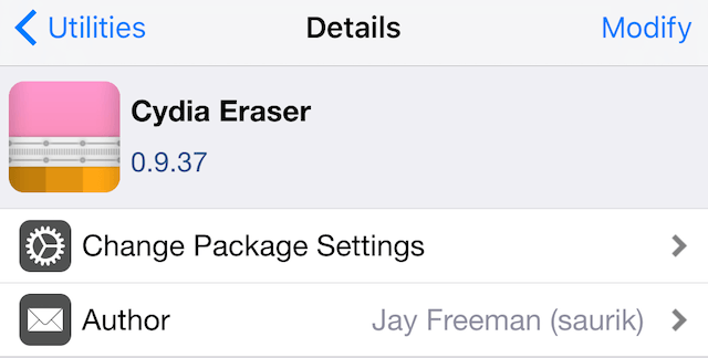 How to Remove iOS 10 Yalu Jailbreak From Your iDevice Using Cydia Eraser?