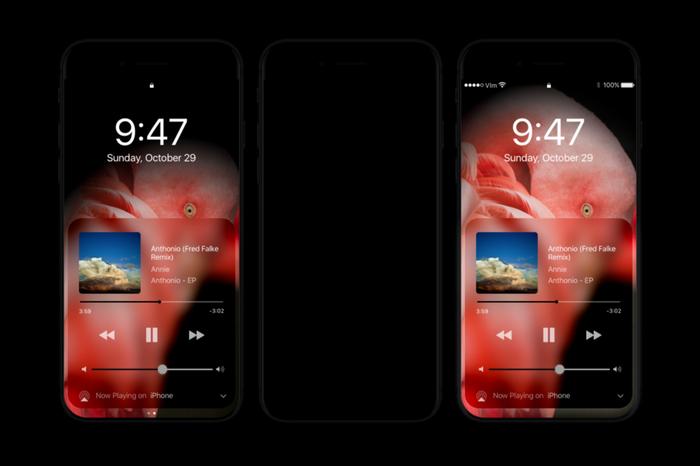 iPhone8: Dark Mode Met OLED Scherm