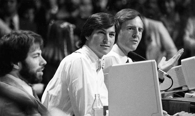 Rare Photos Reveal Apple keynote Progenitor